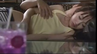 Stepdad seducing his step daughter sleeping on sofa